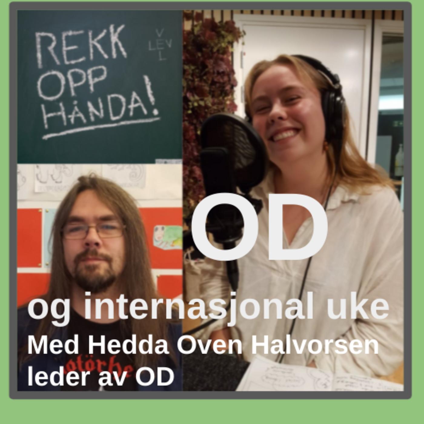 OD og Internasjonal uke 2021 med Hedda Oven Halvorsen