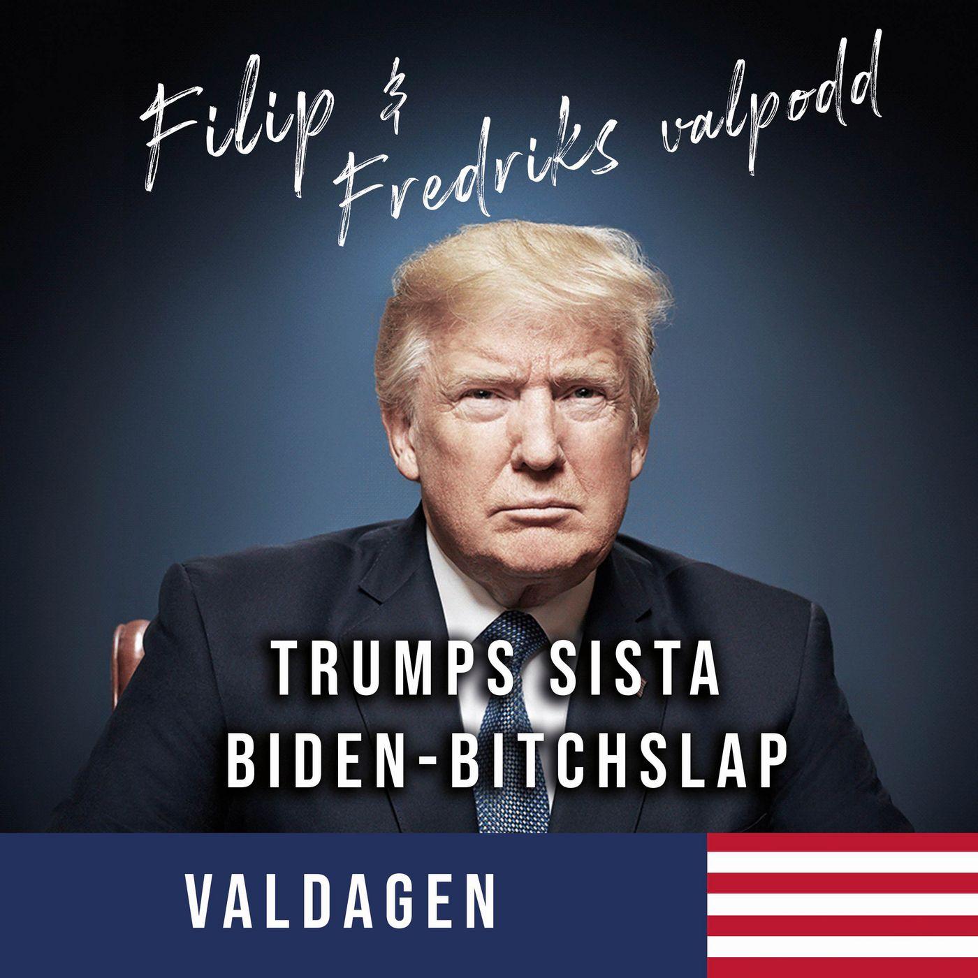 0 dagar kvar: Trumps sista Biden-bitchslap