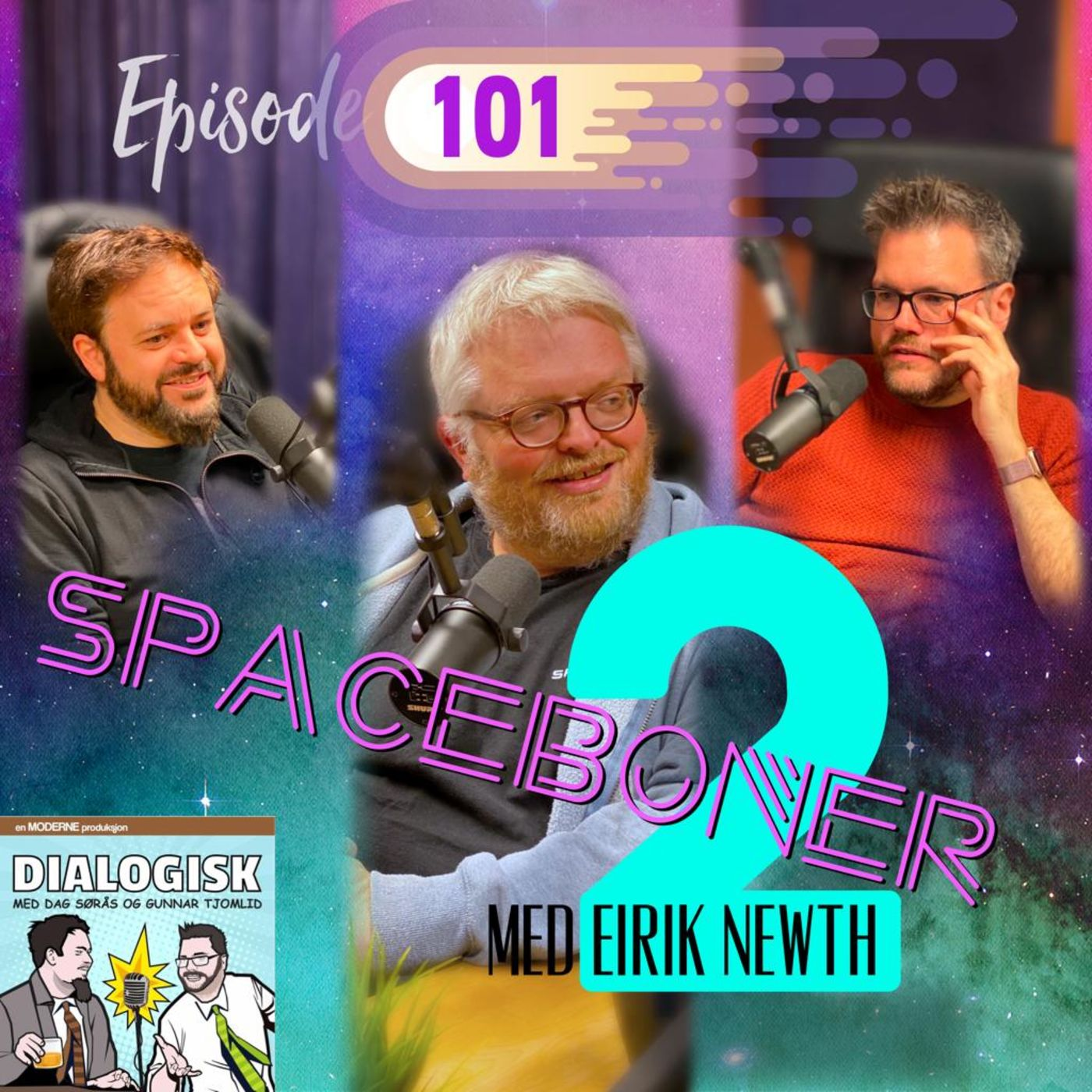 Episode 101: Spaceboner 2 (med Eirik Newth)