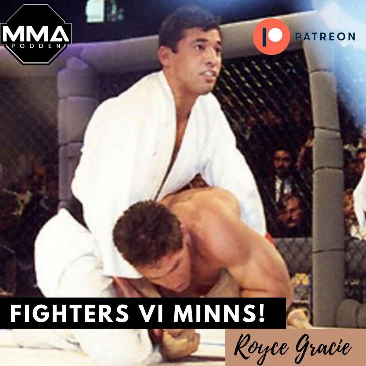 Fighters vi minns! Royce Gracie promo. Patreon exklusivt