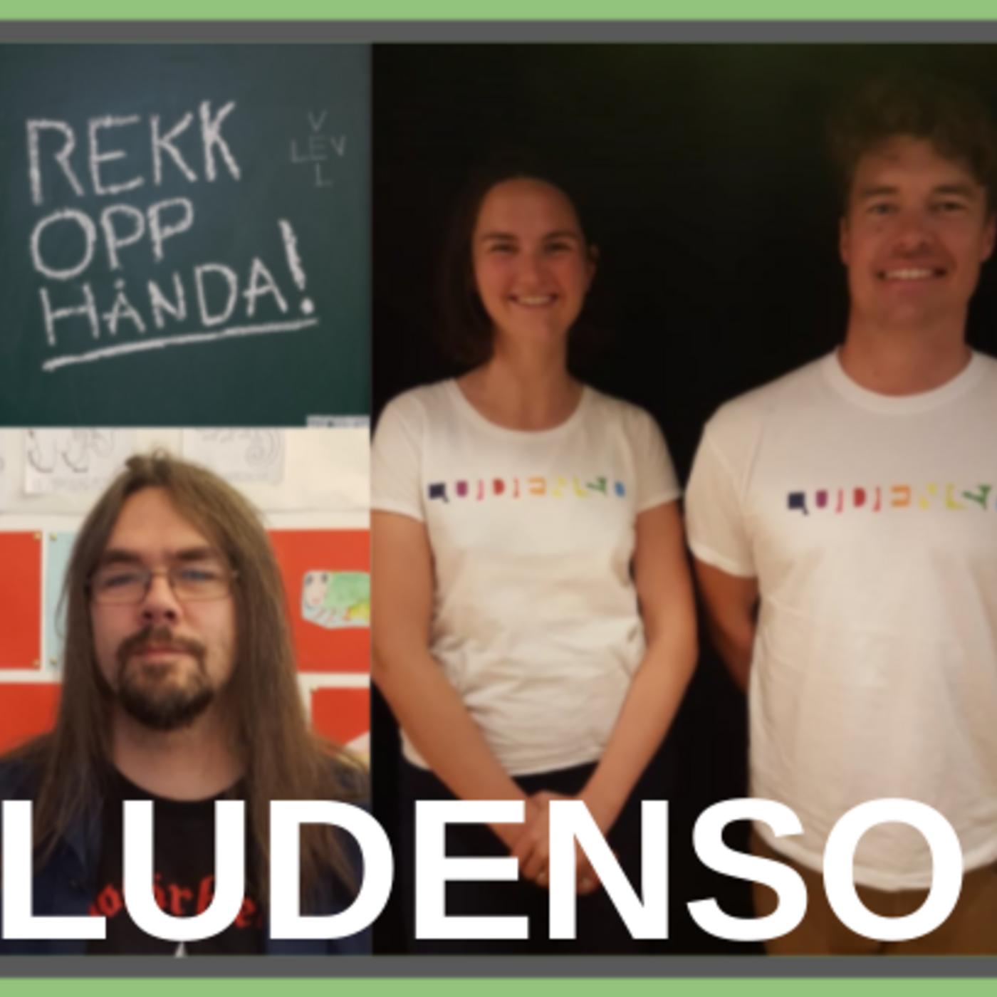 LUDENSO - læring med 3D og AR: med Ingrid Skrede og Harald Manheim