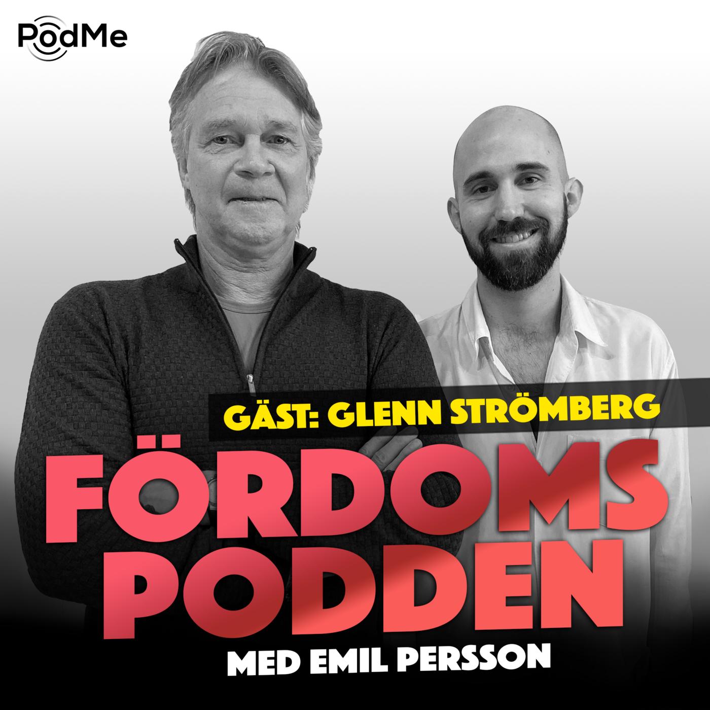 #130 Har Glenn Strömberg burit en likkista iklädd solglasögon?