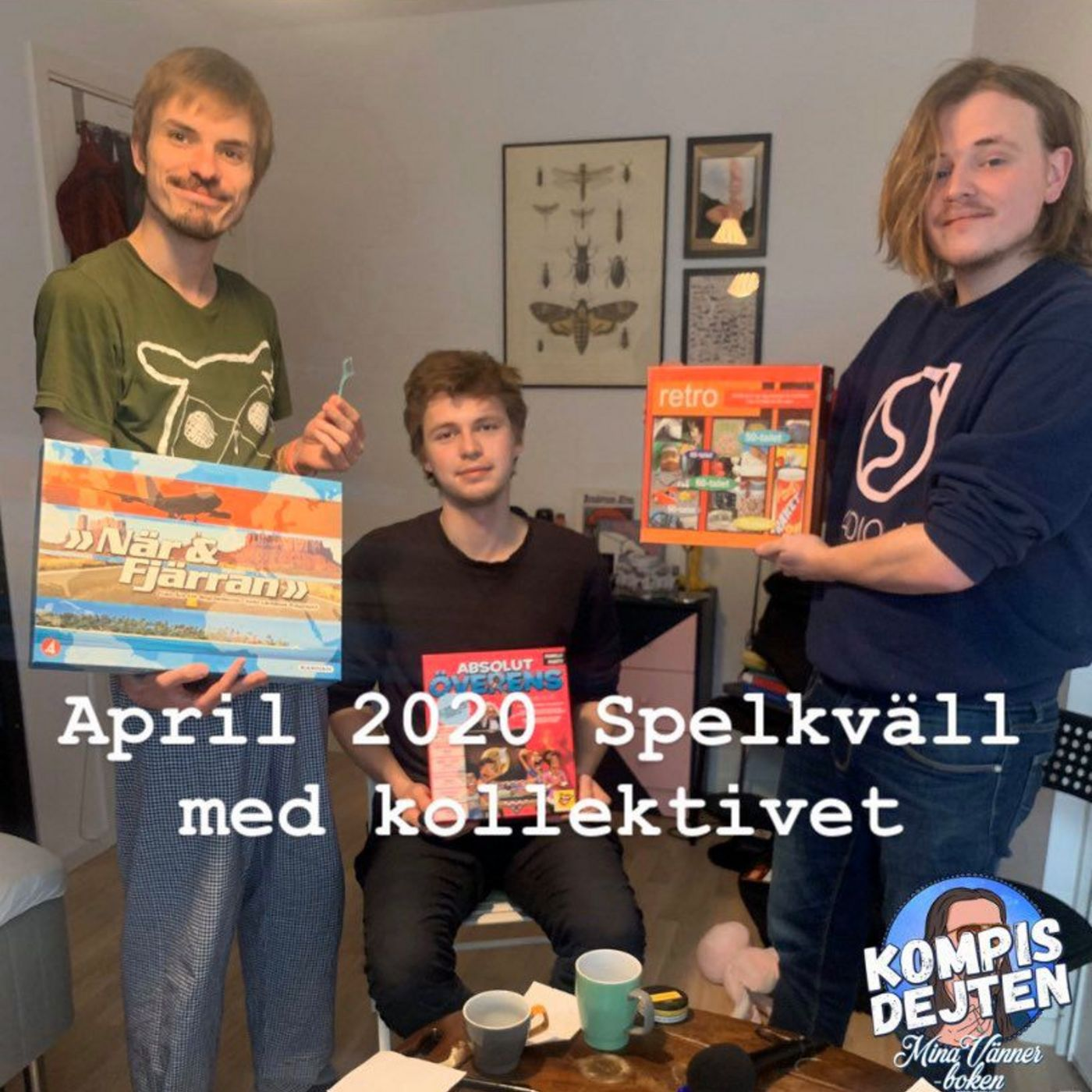 Kompisdejten april 2020 TEASER