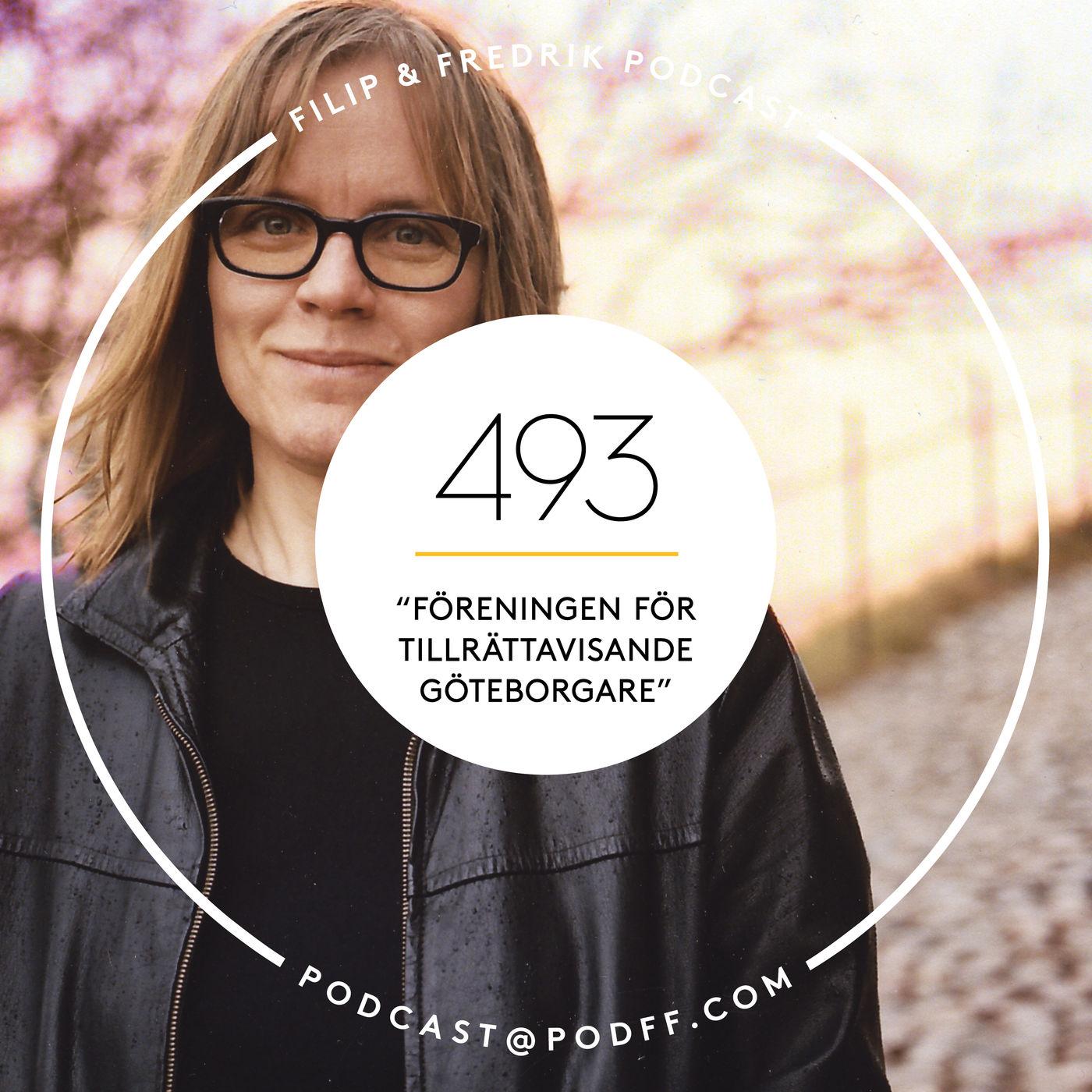"""493. """"Föreningen för tillrättavisande Göteborgare"""""""