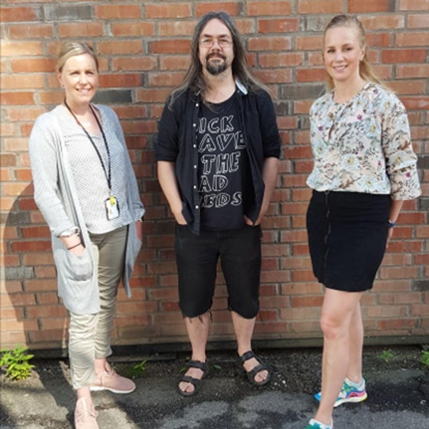 Førstehjelp i grunnskolen med Ann-Helen Estenstad og Ruth-Jorunn Segadal Breiland