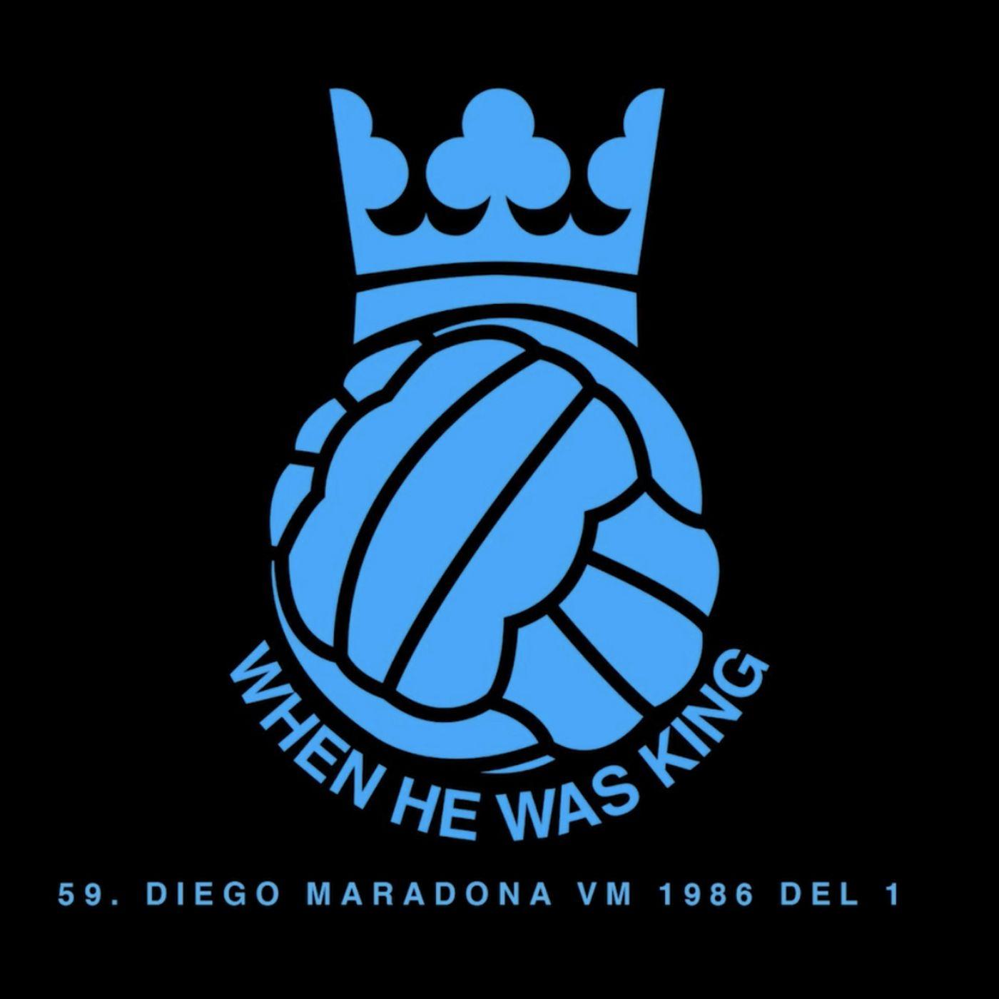 60. Diego Maradona VM 1986 - del 2