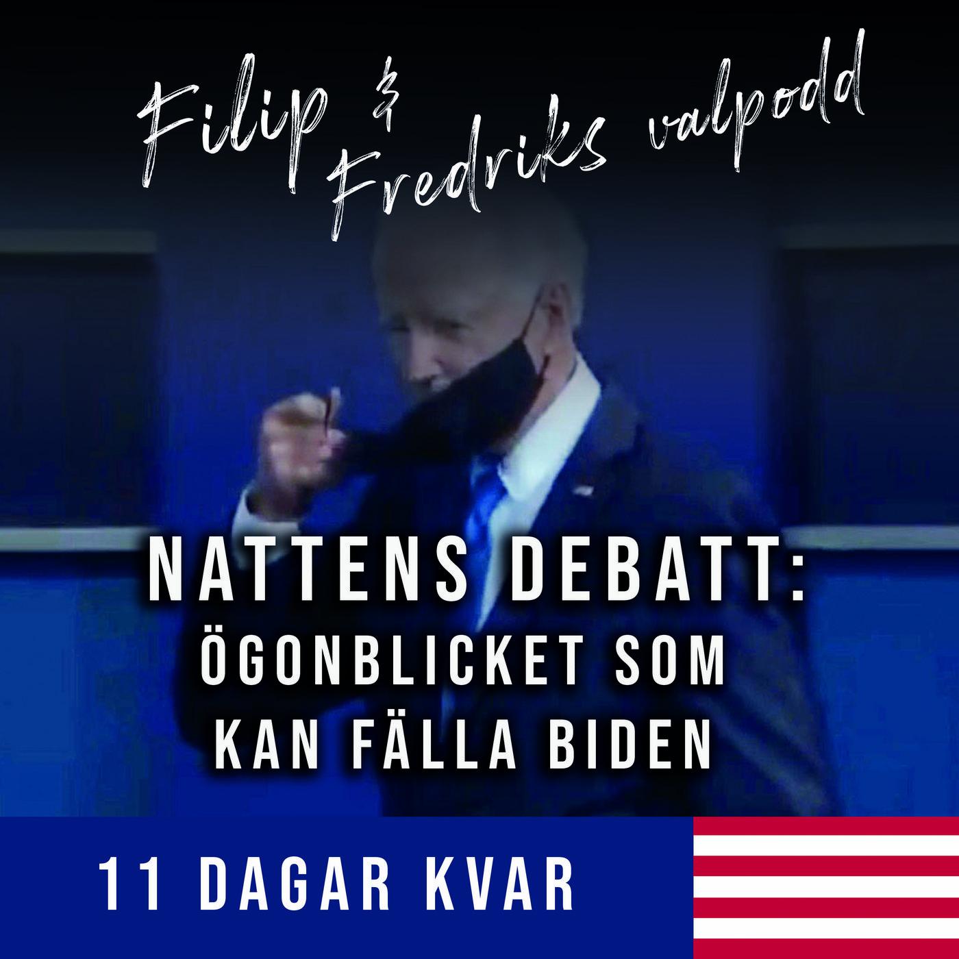 11 dagar kvar: Nattens debatt: ögonblicket som kan fälla Biden