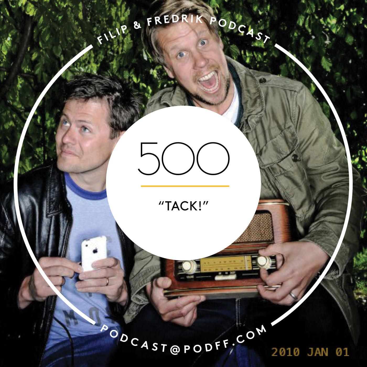 """500. """"TACK!"""""""